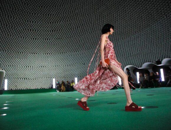 Stella McCartney Channels Mushrooms in Trippy Paris Show